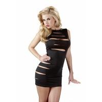 Sexy zwart jurkje met cut-outs