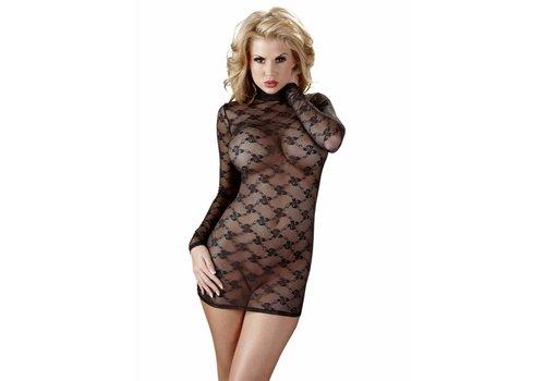 Cottelli Collection Transparant jurkje met lange mouwen