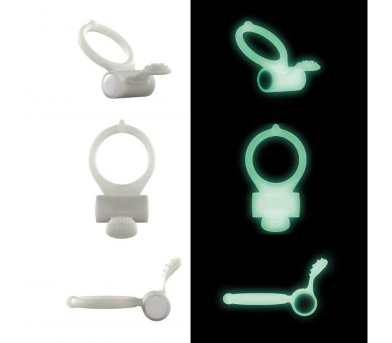 Dorcel Power Clit - Glow in the Dark cock ring