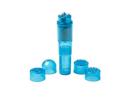 EasyToys Pocket Rocket vibrator - blauw