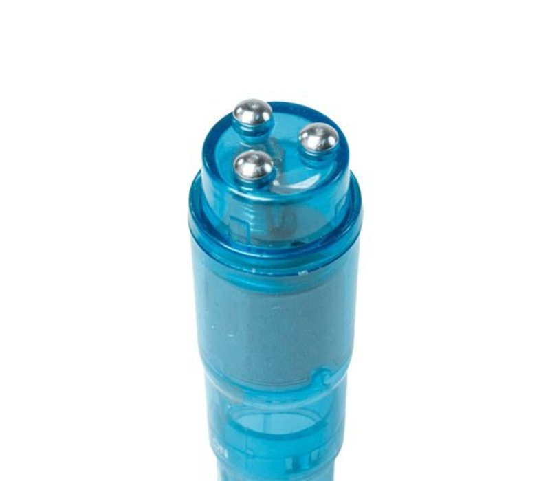 Pocket Rocket vibrator - blauw