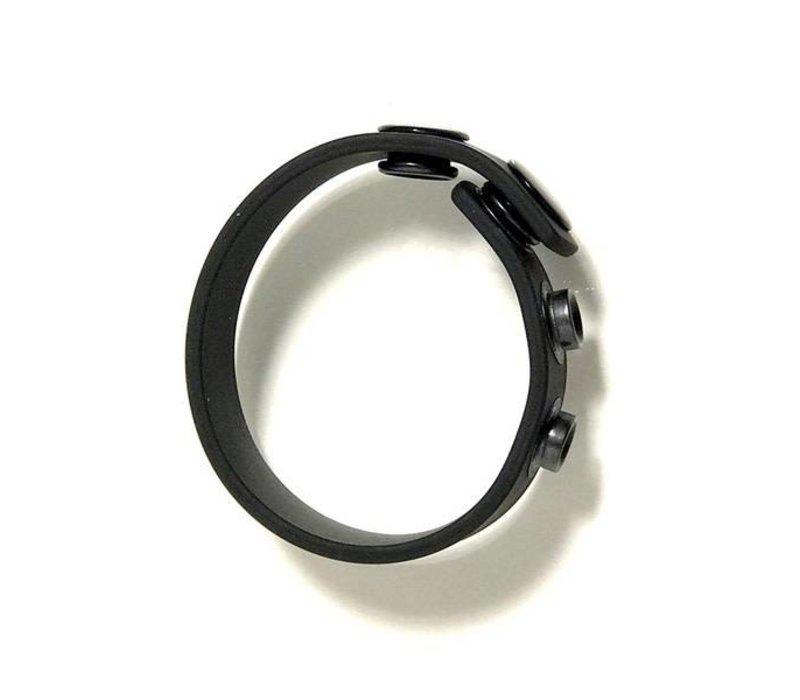 Bone Yard Silicone Cock Strap - adjustable cock ring