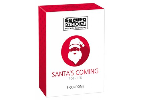 Secura Kondome Secure Kondome - Santa's Coming condoms