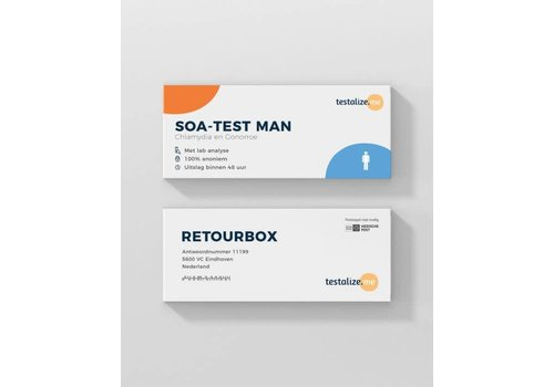 TestalizeMe SOA-Test Man - 100% Anoniem