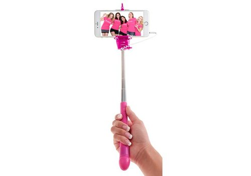 Pipedream Dicky selfie stick - with dildo