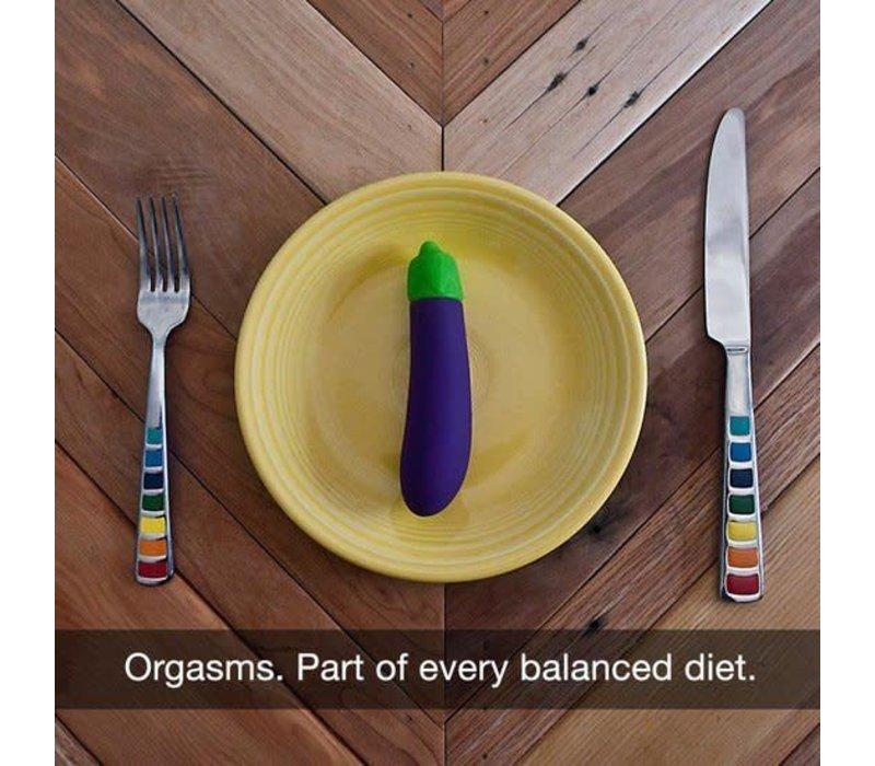 Emojibator - The Eggplant Emoji vibrator