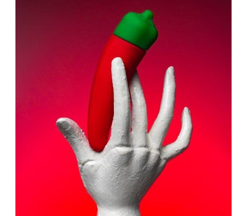 Emojibator The Chili Pepper Emoji vibrator - Exclusively at Euphoria