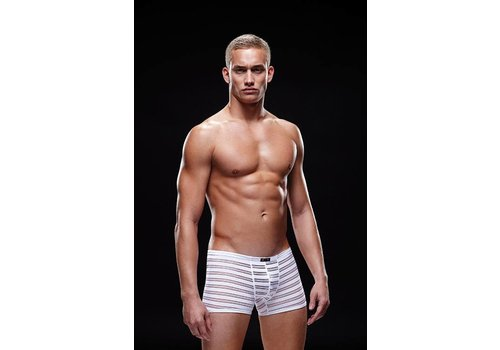 Envy Menswear White semi-transparent shorts