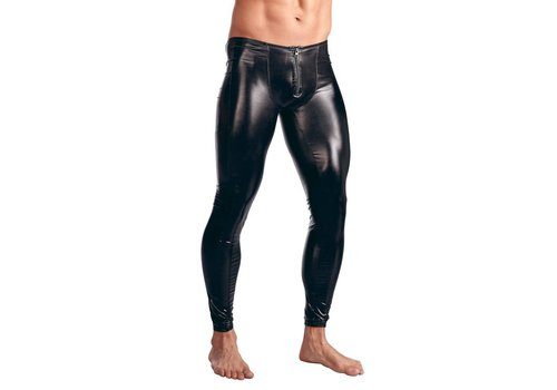 Svenjoyment Black tights for men
