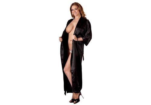Cottelli Collection Zwarte Kimono