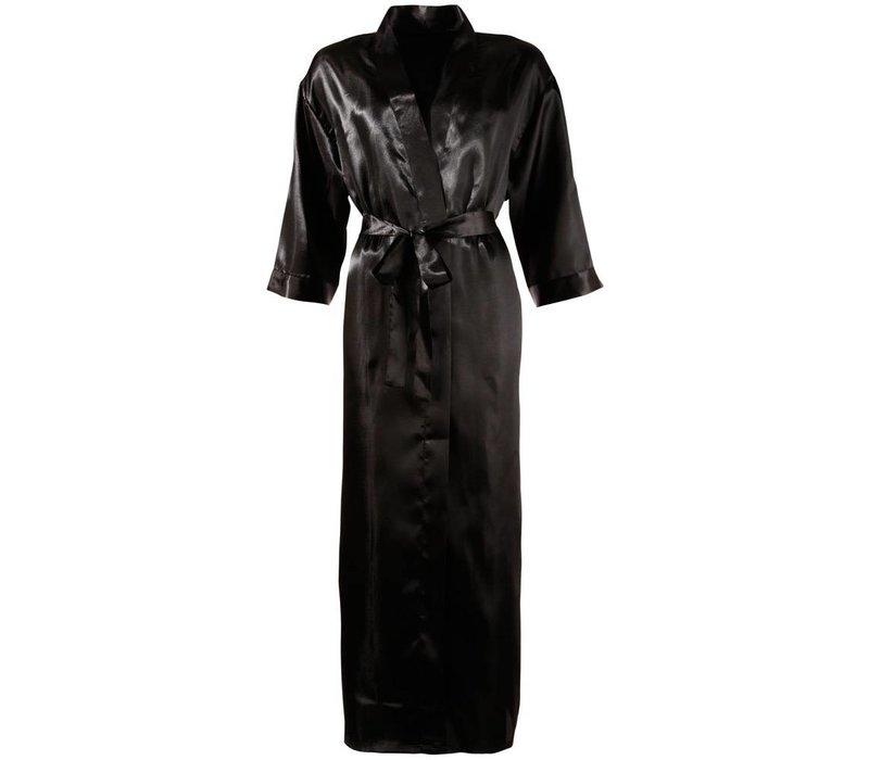 Zwarte Kimono