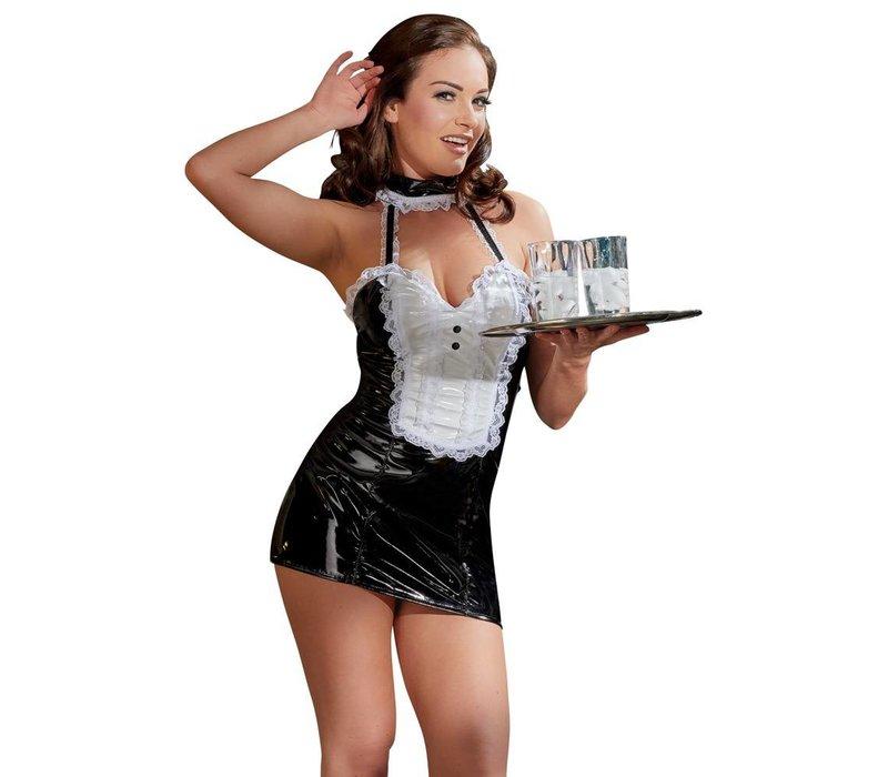 Lak Dienstmeisje kostuum