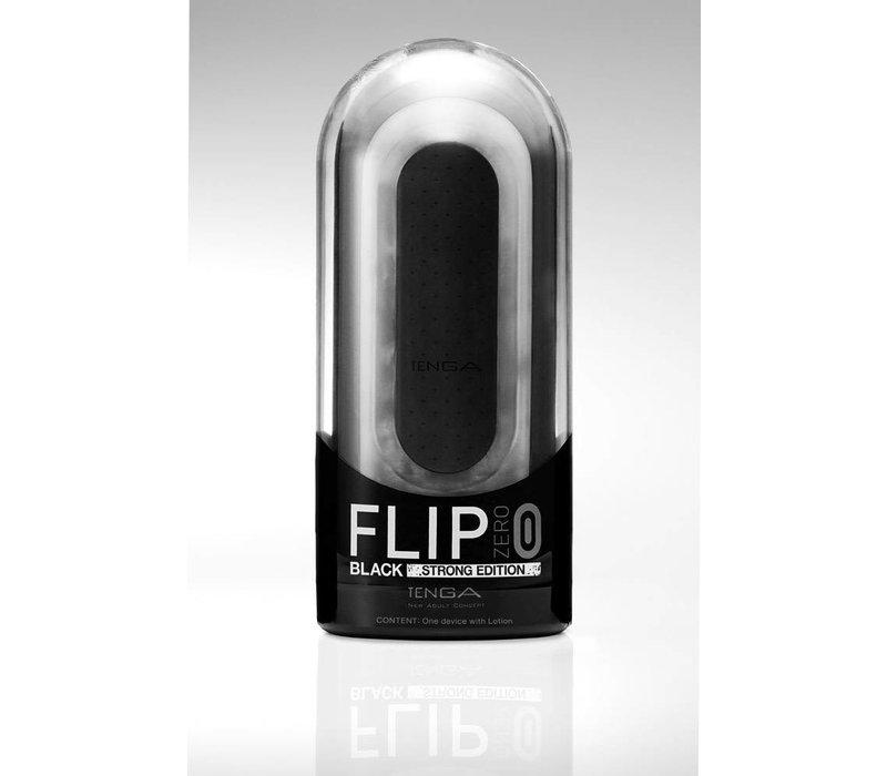 Tenga Flip Zero masturbator - Black Strong Edition