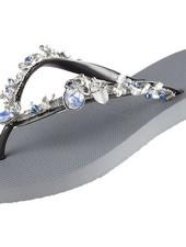 uzurii Stella Blue Uzurii slipper