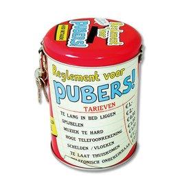 Spaarpot - pubers