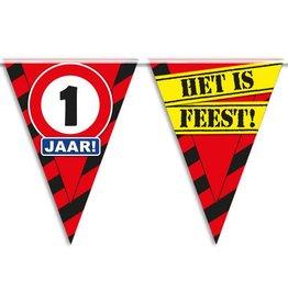 Party Vlaggen - 1 jaar