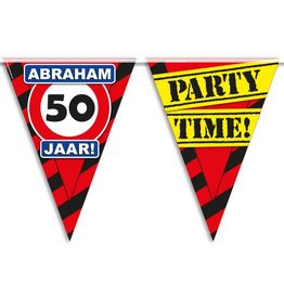 Party Vlaggen - Abraham