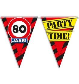Party Vlaggen - 80 jaar