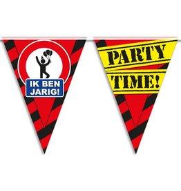 Party Vlaggen - ik ben jarig