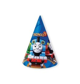 Hoedjes Thomas de trein (6 stuks)
