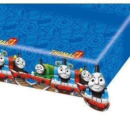 Tafelkleed Thomas de trein (plastic)