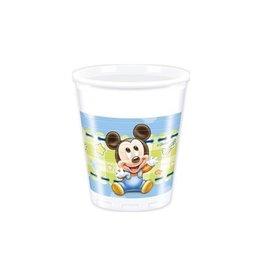 Bekertjes Baby Mickey (200ml, 8st)
