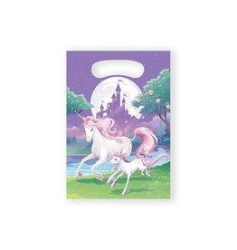 Uitdeelzakjes Unicorn (8 stuks)