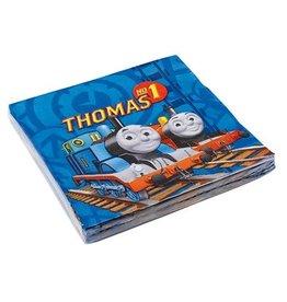 Servetten Thomas de trein (33x33cm, 20st