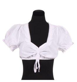 Dirndl blouse ''Emma'', Wit