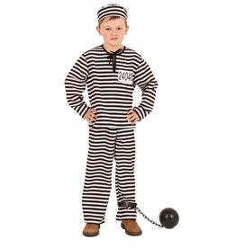 Kostuum Gevangene + pet