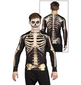 Shirt fotorealistisch Skeleton