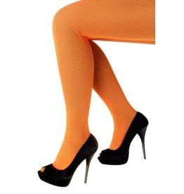 Netpanty fluo oranje one size