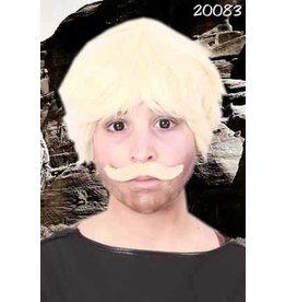 Snor gentleman blond