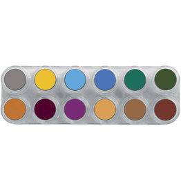 Grimas Water Make Up Paletten - B12