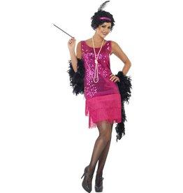 Funtime Flapper Kostuum, roze