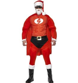 Super Fit Kerstman Kostuum