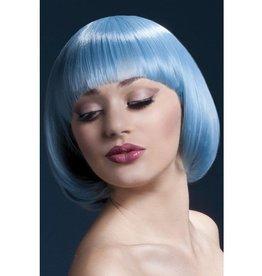 Fever Mia Pruik, Pastel Blauw
