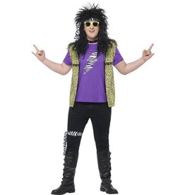 80s Curves Rock Star Kostuum