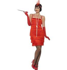 Flapper Kostuum, rood