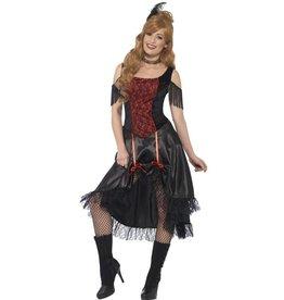 Saloon Dames Kostuum