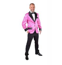 Glitter colbert Pink
