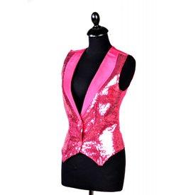 Vest paillet dames luxe