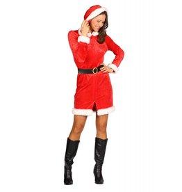 """Kerstmeisje """"Holly"""" Rood"""