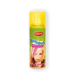 Haarspray glitter goud (125ml)