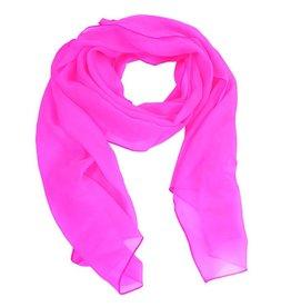 Sjaal fluor pink