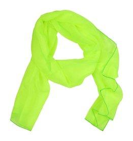Sjaal fluor geel