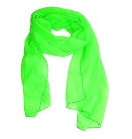 Sjaal fluor groen