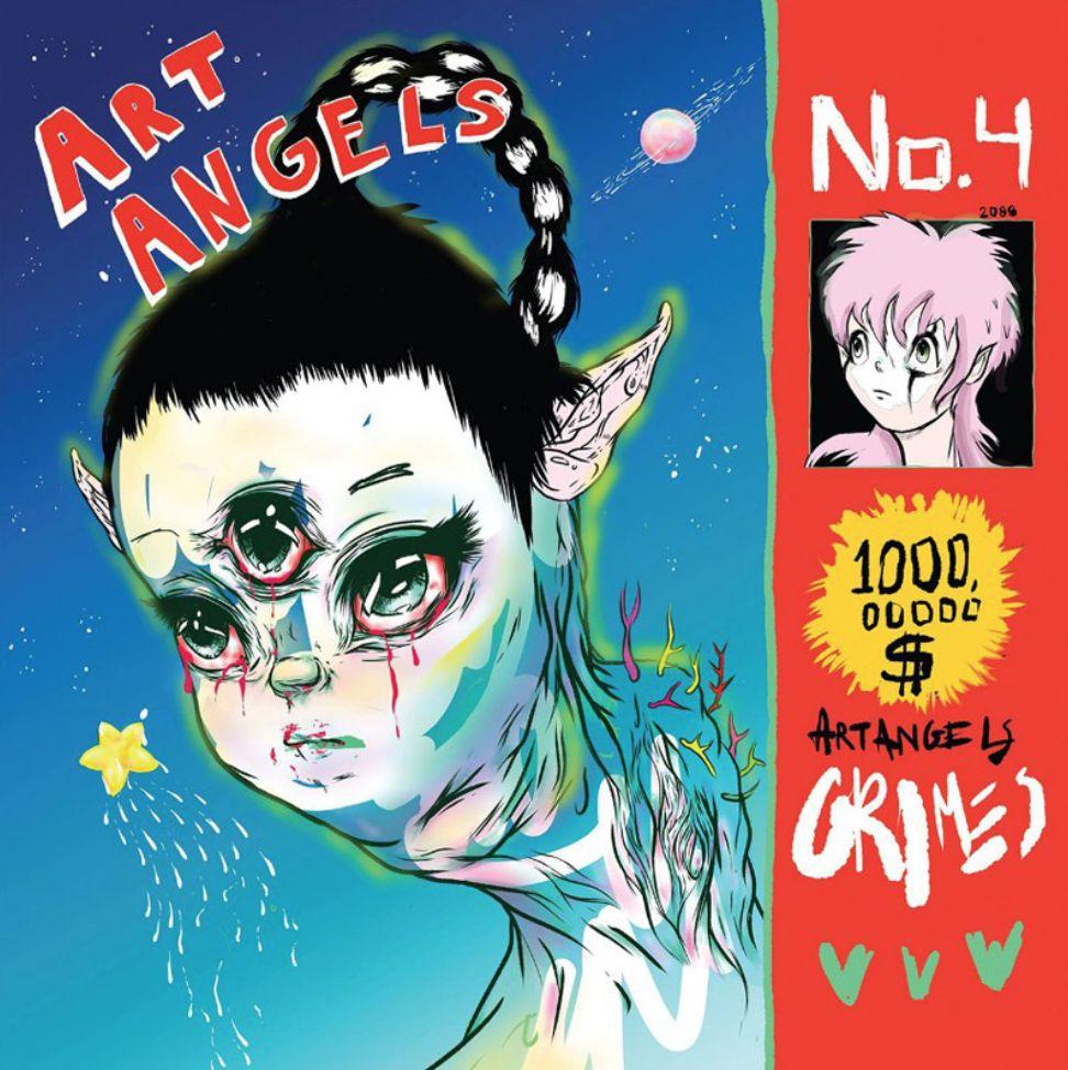 4AD Grimes - Art Angels