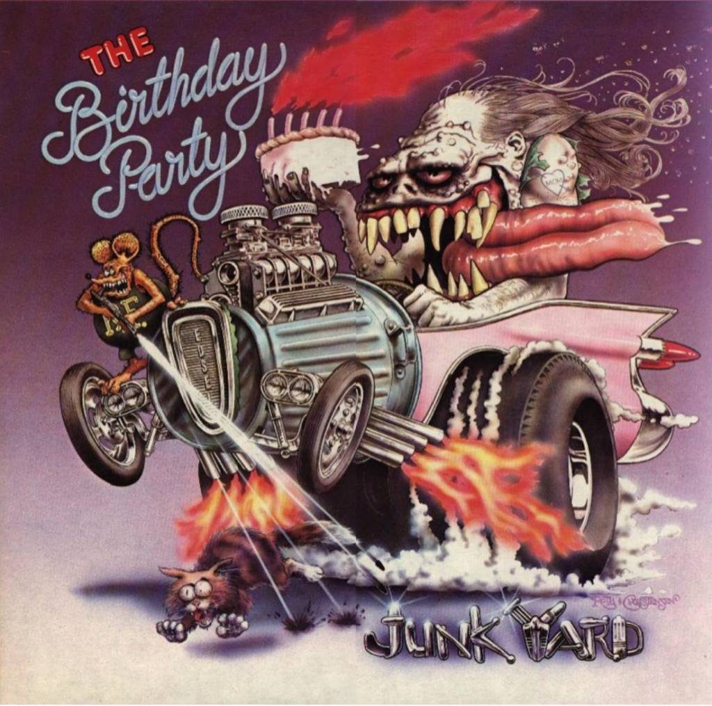 4AD The Birthday Party - Junkyard