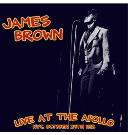 Wax Love Records James Brown - Live At The Apollo: NYC, 1962